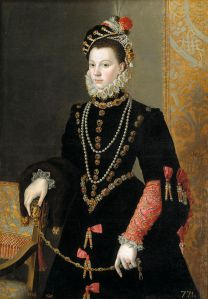 Elizabeth, the Mother of Princess Catherine and wife of King Philip II