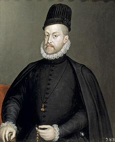 King Philip II of Spain